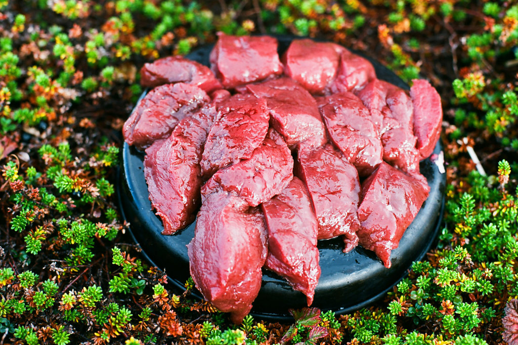 Оленье мясо