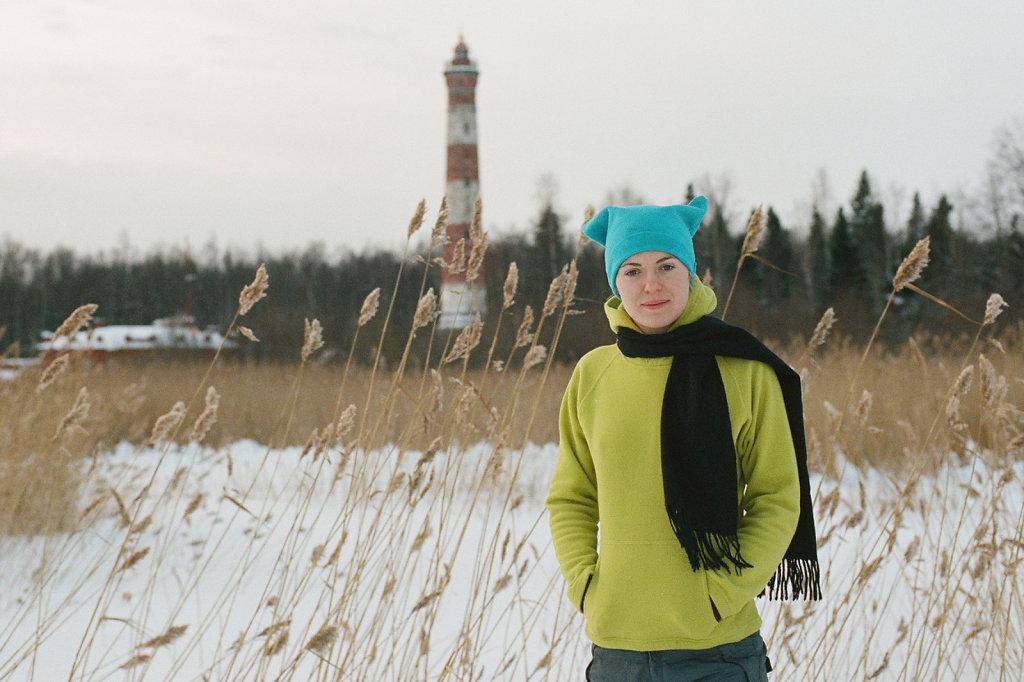 На Свирском маяке   Svirsky lighthouse