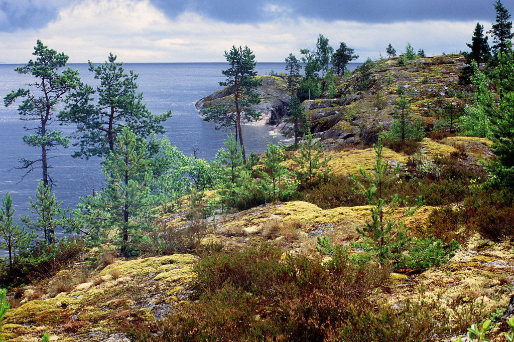 Ладожские шхеры   Ladoga lake skerries
